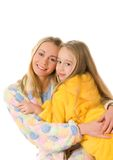 Mother and her daughter Royalty Free Stock Photo