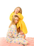 Mother and her daughter Royalty Free Stock Image