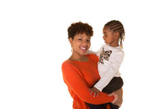 A mother and her daughter Stock Images