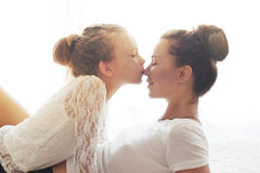 Mother with her daughter Royalty Free Stock Photography