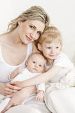 Mother with her daughters Royalty Free Stock Photography