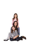 A mother and her daughters Royalty Free Stock Photo