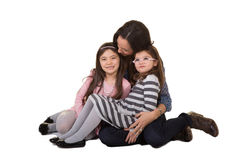 A mother and her daughters Stock Photography