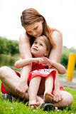 Mother and her daugther Stock Images