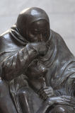 Mother and her dead son monument Royalty Free Stock Photo
