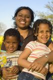 Mother with her kids Royalty Free Stock Image