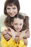 Mother and her little daughter Royalty Free Stock Images