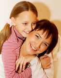 Mother and her little daughter Royalty Free Stock Image