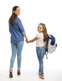 My first day of School Royalty Free Stock Photos