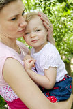 Mother with her little girl Royalty Free Stock Photography