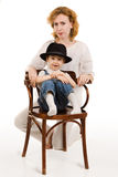 Mother and her little son Royalty Free Stock Images