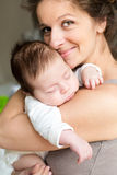 Mother with her baby Royalty Free Stock Photography