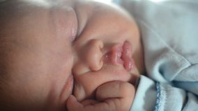 Mother and her Newborn Baby stock video footage
