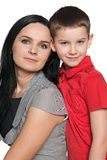 Mother with her son Royalty Free Stock Photo