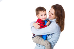 Mother and her son Royalty Free Stock Image