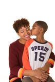 A mother and her son Royalty Free Stock Images