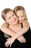 Mother with her teen doughter Royalty Free Stock Photo