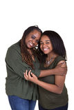 A mother and her teenage daughter Stock Images
