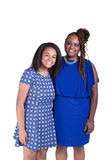 A mother and her teenage daughter Royalty Free Stock Photos