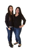 A mother and her teenage daughter Royalty Free Stock Image
