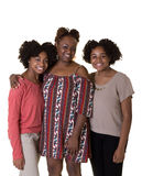 A mother and her teenage daughters Royalty Free Stock Photo
