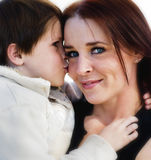 Mother with her young little boy Royalty Free Stock Image