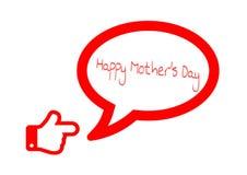 Mother& heureux x27 ; jour de s Images libres de droits