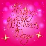 Mother& heureux x27 ; jour de s sur le fond de bokeh Image stock