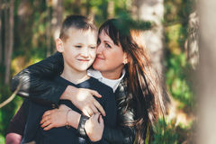 Mother with his Child Royalty Free Stock Photography
