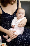 Mother hold her baby Royalty Free Stock Images