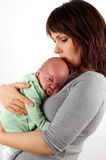 Mother holding baby #3 Royalty Free Stock Image