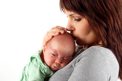 Mother holding baby #3 Stock Photography