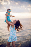 Mother holding her child Royalty Free Stock Image