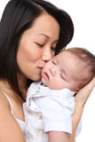 Mother Holding Young Son Royalty Free Stock Photo