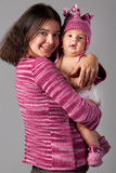 Mother holds baby Royalty Free Stock Photography