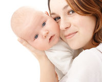 Mother holds her child Royalty Free Stock Image