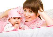 Mother and  infant Royalty Free Stock Image
