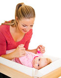 Mother with infant Royalty Free Stock Photo