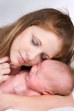 Mother And Infant Stock Photos