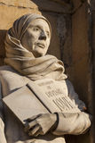 Mother Julian Sculpture at Norwich Cathedral Royalty Free Stock Image