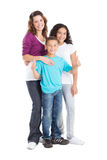 Mother and kids Stock Image