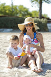 Mother with kids Royalty Free Stock Photos