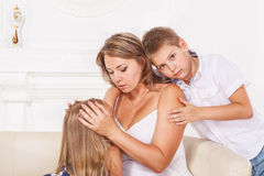 Mother and kids Stock Photography