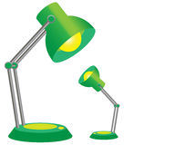 Mother lamp and her offsrping Stock Photography