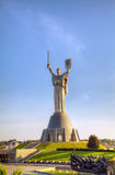 Mother Land monument in Kiev, Ukraine Stock Photo