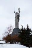 Mother Land monument in Kiev, Ukraine. Royalty Free Stock Image