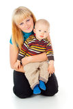 Mother and little child Royalty Free Stock Photography