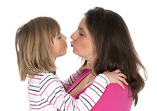 Mother and little daughter Royalty Free Stock Photography