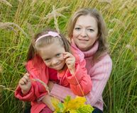 Mother with little girl Royalty Free Stock Photo