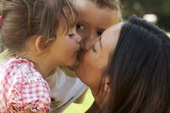 Mother love stock images